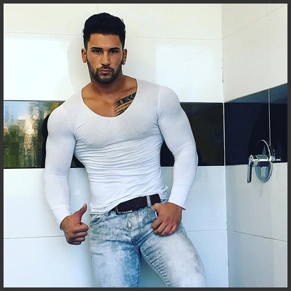 Stripper Tristan aus Reutlingen