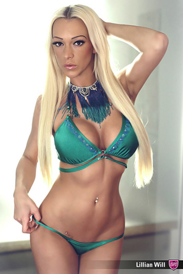 Blonde Stripperin aus Heilbronn - Lillian Will