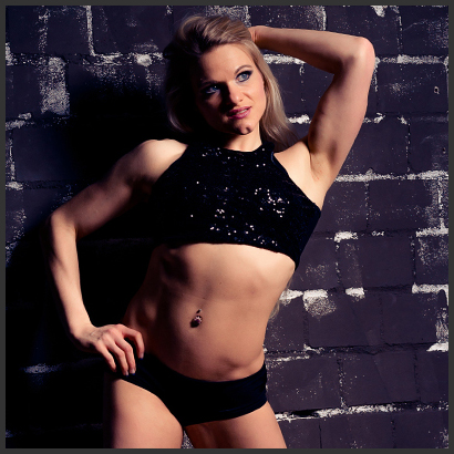 Stripperin Miss Lee aus Darmstadt